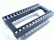 28p low cost IC socket wide