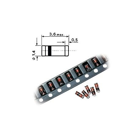 SMD MiniMelf Zenerdiode 12V 0.5W