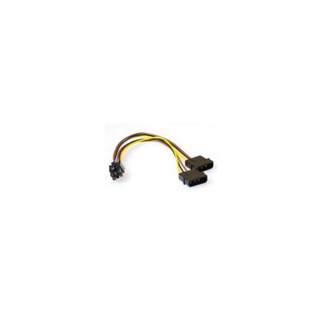 PCI Express Power cable 6 - 6 pin female - 2x 5. 0,20M