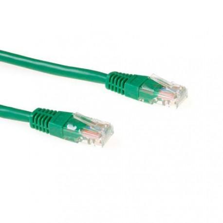 UTP patch C5E 3m green