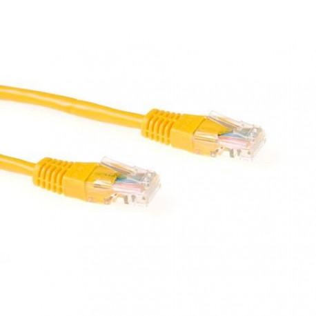 UTP patch C5E 0.5m yellow - IB5800