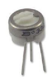 1K 1 turn cermet trimmer - Bourns 3329H