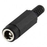 DC Power plug 2.35/5.5 - NEKJ25