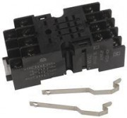 Socket V23100 HC4-SFD-K - 4 x changeover, socket screw terminals, DIN Rail 35mm. 10 + 9,90 each