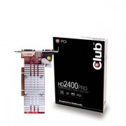 VGA CLUB3D HD2400 PRO256MB - standard PC Remarketed 90 days warranty