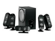 Logitec X-530 speakers / 5.1 - 70W RMS no box. geen box. DEMO
