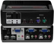 Avocent 2-port KVM 2SVPUA20 - Avocent SwitchView MM2 2-port Remarketed 90 days warranty.