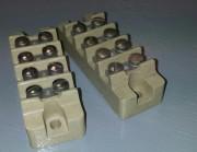 Ceramic terminal block 4p