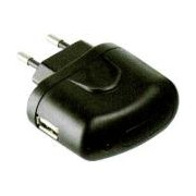 USB Charger 220V USB 1A - + LED