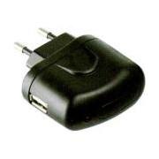 USB Charger 220V USB 0.5A - + LED