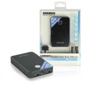 Draagbare USB Power Bank 7000 - Artl. code: KN-PBANK7000 Met deze draagbare accu kunt u overal smartphones en andere USB gevoede