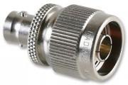 Coax adapter BNC F N Male - Radiall R 191421