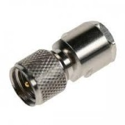 Coax adapter FME male - mini UHF male