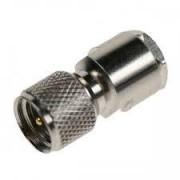 Coax adapter FME male - mini UHF male