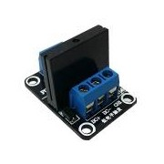 1-Channel 5V SSR - Solid-State Relay Low Level Trigger Module Omron 5V solid state relay 240V 2A, output with resistive fuse