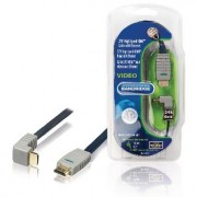 270° High Speed HDMICable with - Ethernet. Digital AV conn. allows DVD or other device to be conn. to an HD TV. 1.0m