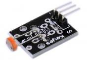 Keyes Sensor Module KY-018 - Arduino Photo resistor module KY-018 Photo resistors, also known as light dependent resistors