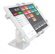 """Tablet Anti-Theeft Stand POS W - Tablet Anti-Theeft Stand For Point Of Sale Environments White - 150 Degree Swivel 7"""" - 10.5"""""""