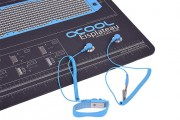 Antistatic table mat 120x60cm - plus Wrist and Strap Grounding connector