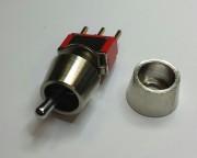 C&K covering screw 8mm chrome - 10 - 0.80