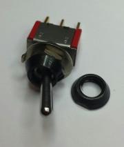 C&K top nut black 10Ø high 3mm - black shine 10 - 0,44