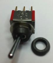 C&K top nut black 10Ø high 3mm - black matte 10 - 0,44