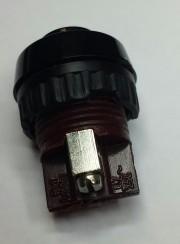 Rafi button, Non-Mom-On green - 250 V/ 0.7A