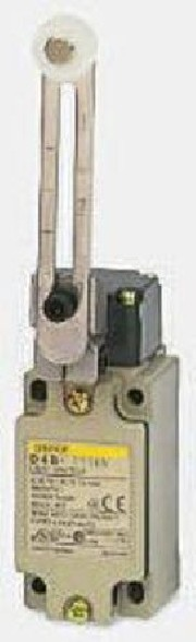 Micro-switch D4B-116 Omron - Safety Limit Switch with roller lever Actuator. 10A / 500VAC