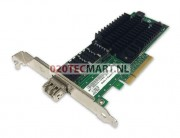 Dell 0RN219 10GB Single Port Fibre HBA Full Profile PCI-E Adapter - Intel E15729