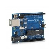 Arduino UNO compatible board, processor on socket