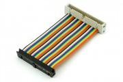 40p Rainbow GPIO extension cable Male/Female 60cm