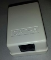 RJ 45 Surface mounted box - unshielded 1 ports