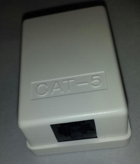 RJ 45 Surface mounted box - unshielded 1 ports