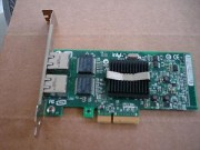 Intel LAN Card D33682 Dual - Gigabit Ethernet Card CN-0X3959 PCI E Remarketed 30 days warranty