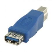USB 3.0 USB B mannelijk - USB - Deze adapter kunt u gebruiken om een USB 3,0 A male verbinding te veranderen naar een USB 3,0 B