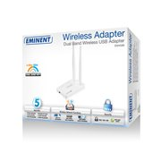 EMINENT EM4586 - WiFi Adapter - EM4586 - Wireless Dual Band USB Adapter Wireless network adapter for desktop computers and