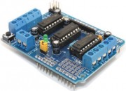 Motor-shield for servo's, DC-Motor and steppermotor
