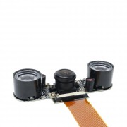 ZeroCam Fiseye NightVision - for PiZero & Raspberry Pi 3