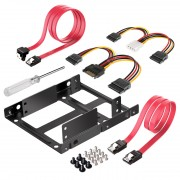 "2.5 - 3.5"" HD mounting Kit, incl. SATA Data and Power Cable"