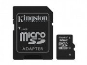 Kingston MicroSD 32 GB + Adapters