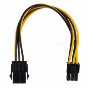 6-pin Male to Female Graphics Card power Extension Cable