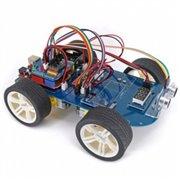 Open-Smart 4WD Serial Bluetooth Cntrol Gear motor Smart car Kit with Tutorial for Arduino UNO R3 Nano Mega2560
