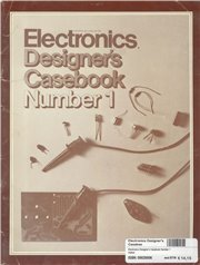 Electronics Designer's Caseboo - Electronics Designer's Casebook Number 1 Author: Language: English Pages: Publisher: other