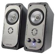 2.0 luidsprekerset 2x 10W DEMO - REMARKETED - 90 dagen garantie Deze 2.0 stereo speakerset combineert een gebalanceerde
