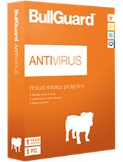 BullGuard AntiVirus 1-PC 1 jaar