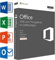 Microsoft Office voor MAC Thuisgebruik & Zelfstandigen 2016 1-Mac