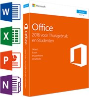 Microsoft Office Thuisgebruik & Student 2016 1-PC