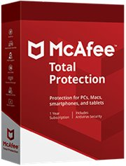 McAfee Total Protection 5-PC 1 jaar