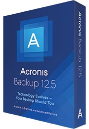 Acronis Backup 12.5 Standard for Windows Server Essentials