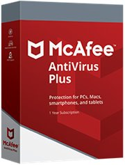 McAfee AntiVirus Plus 5-PC 1 jaar